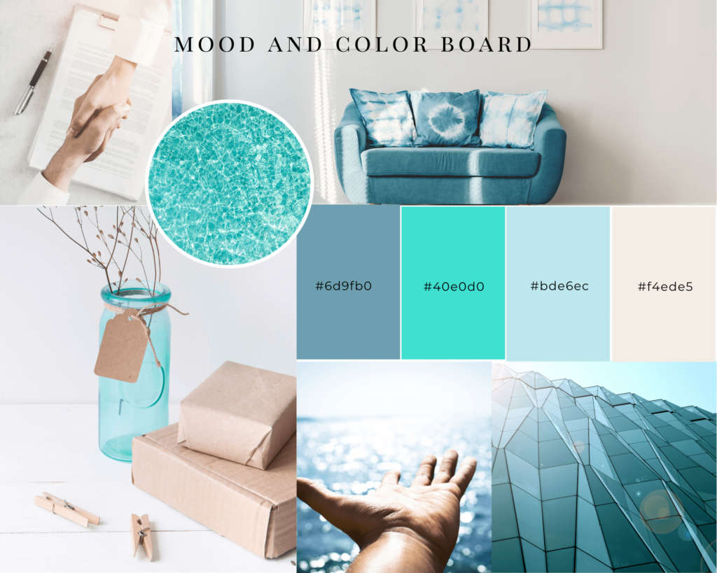 Brand Mood and Color Board