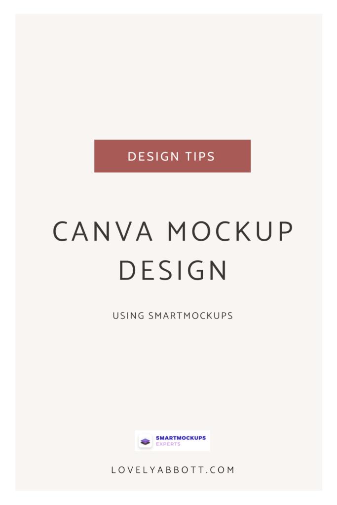 Canva Mockup Design with Smartmockupd