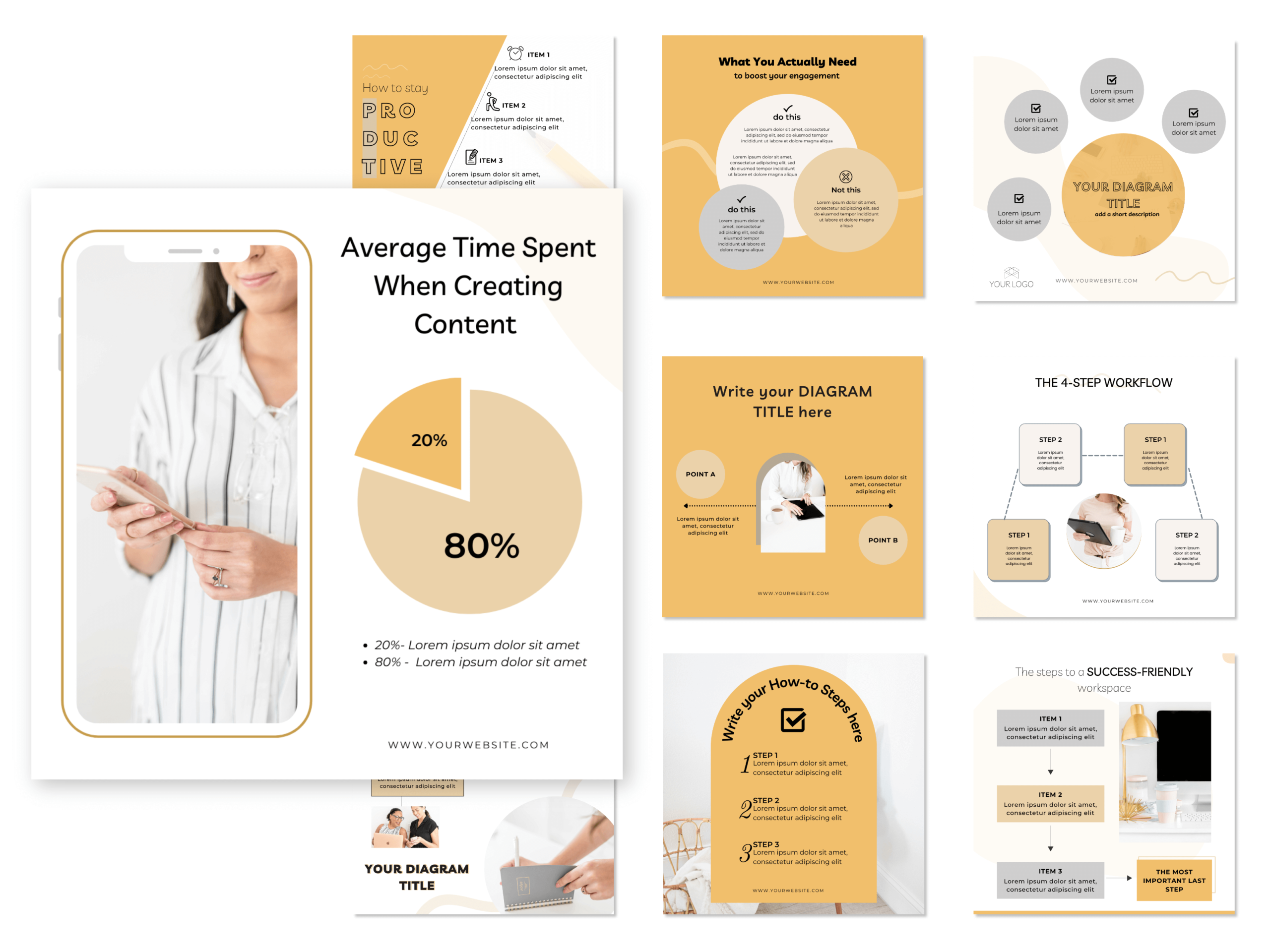 IG engagement graphics