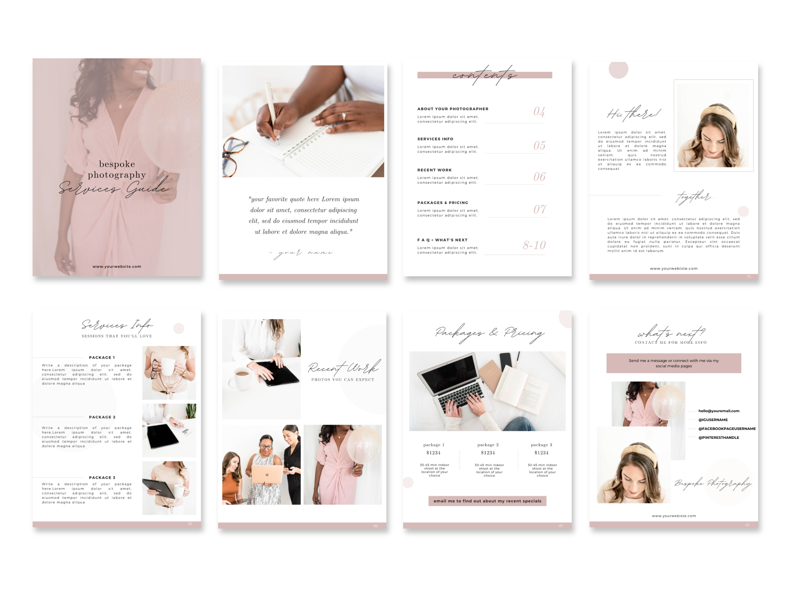 Photography Services Guide Template