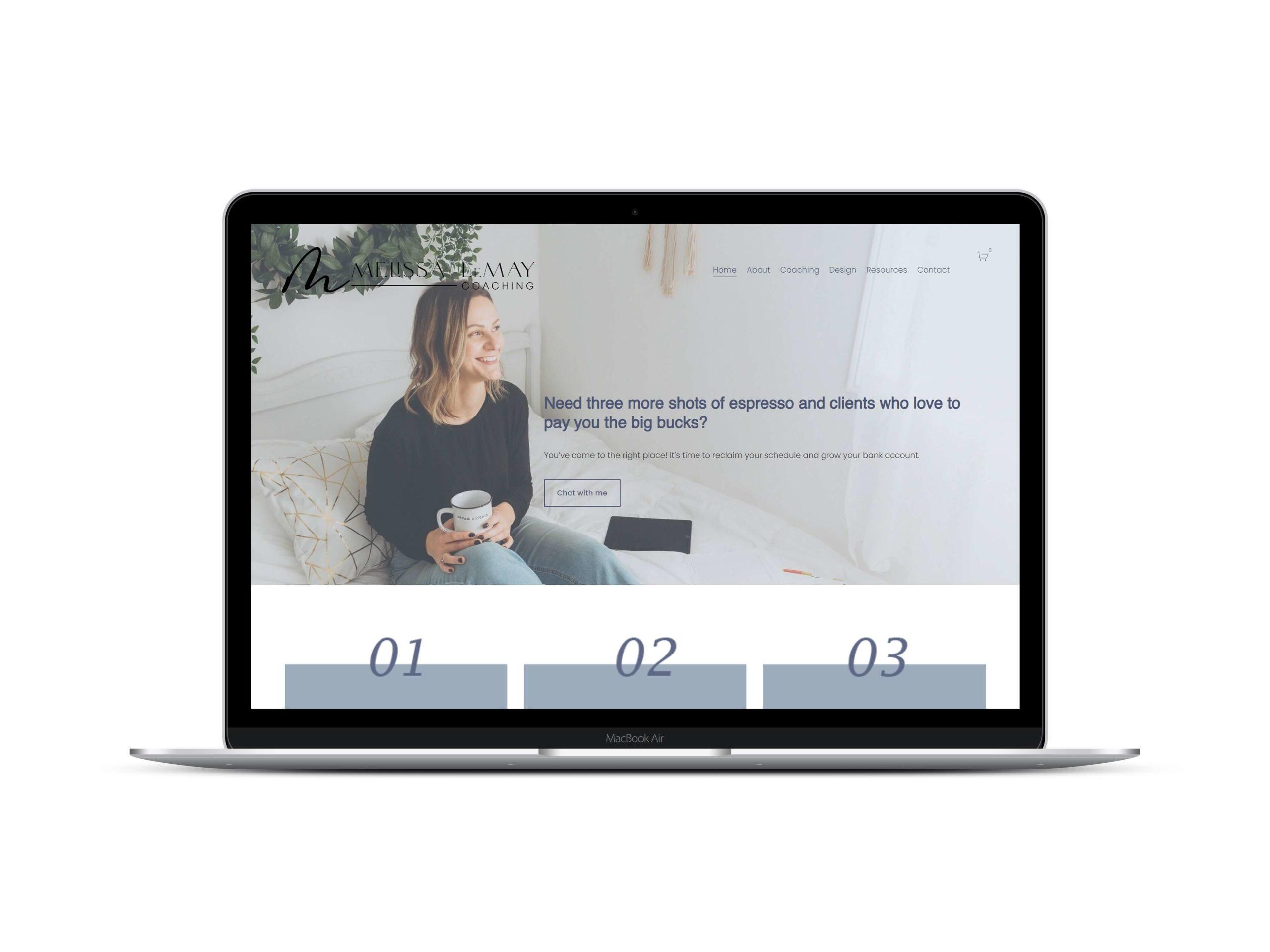 Squarespace Website Design by Lovely Abbott