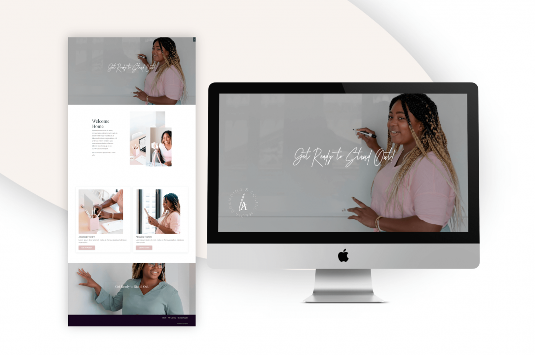 kajabi sales page design